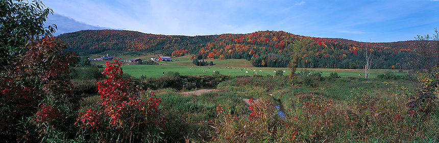 New Hampshire panorama, Photograph by Peter E, Randall