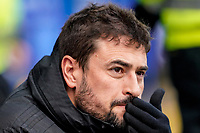 1st February 2020; St Andrews, Birmingham, Midlands, England; English Championship Football, Birmingham City versus Nottingham Forest; Pep Clotet Manager of Birmingham City before the game