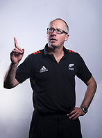Analyst Doug Nielson. 2019 New Zealand Schools rugby union headshots at the Sport & Rugby Institute in Palmerston North, New Zealand on Wednesday, 25 September 2019. Photo: Dave Lintott / lintottphoto.co.nz