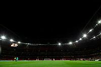 28th November 2019; Emirates Stadium, London, England; UEFA Europa League Football, Arsenal versus Frankfurt; A general view of a mostly empty Emirates Stadium - Editorial Use