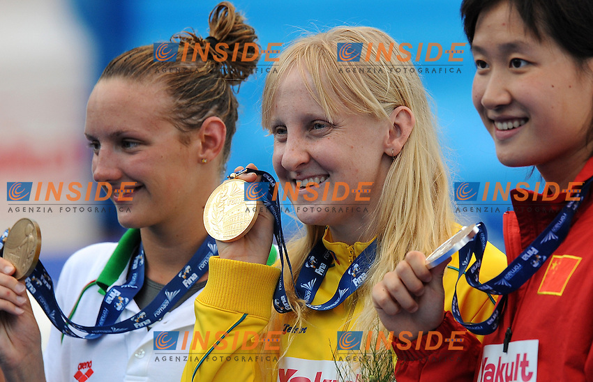 Roma 30th July 2009 - 13th Fina World Championships From 17th to 2nd August 2009....Swimming finals..Women's 200m butterfly..Jessica Shipper (AUS) gold medal....photo: Roma2009.com/InsideFoto/SeaSee.com