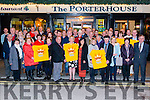 Launch of Darkness Into Light Nathan's Walk in association with Pieta House and Electric Ireland in The Porter House Restaurant and Bar, Killarney last Monday night.