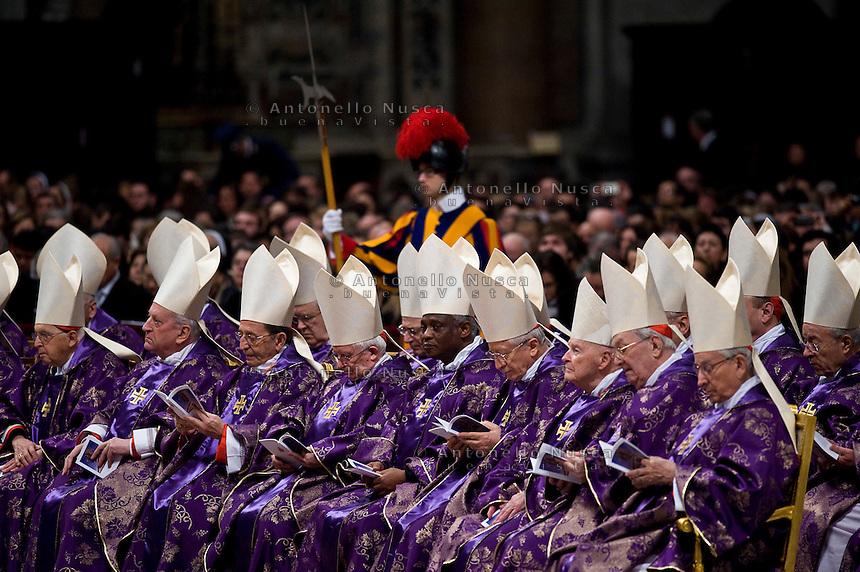 Cardinali nella Basilica di San Pietro