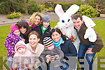 Pictured at the Easter Egg hunt in the Ballygarry house Hotel on Sunday morning were front Lucy O'Carroll, Eimear Coleman, Rory O'Connor and Aileen O'Corroll..Back from left Mia McGreevy, Linda McGreevy, Siobhain O'Carroll, Max McGreevy, and Eoin O'Carroll.
