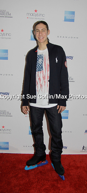 Jason Brown - Skating with the Stars - a benefit gala for Figure Skating in Harlem in its 17th year is celebrated with many US, World and Olympic Skaters honoring Michelle Kwan and Jeff Tweedy on April 7, 2014 at Trump Rink, Central Park, New York City, New York. (Photo by Sue Coflin/Max Photos)