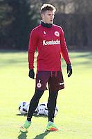 Guillermo Varela (Eintracht Frankfurt) wieder im Training - 17.01.2017: Eintracht Frankfurt Training, Commerzbank Arena