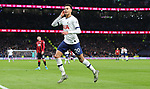 Tottenham's Dele Alli celebrates after scoring to make it 2-0 during the Premier League match at the Tottenham Hotspur Stadium, London. Picture date: 30th November 2019. Picture credit should read: Paul Terry/Sportimage