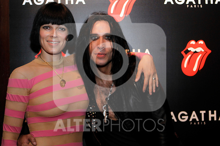 Bimba Bose and Mario Vaquerizo at Aghata evnt.28 june 2012.(ALTERPHOTOS/ARNEDO)