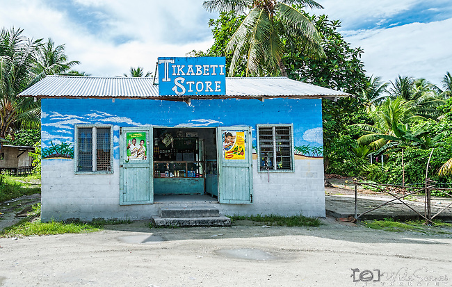 General store on Tarawa, Kiribati