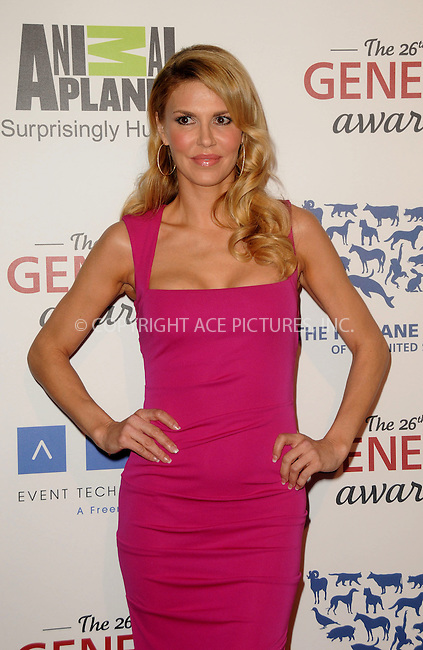 WWW.ACEPIXS.COM . . . . .  ....March 24 2012, LA....Brandi Glanville arriving at the 26th Annual Genesis Awards at The Beverly Hilton Hotel on March 24, 2012 in Beverly Hills, California. ....Please byline: PETER WEST - ACE PICTURES.... *** ***..Ace Pictures, Inc:  ..Philip Vaughan (212) 243-8787 or (646) 769 0430..e-mail: info@acepixs.com..web: http://www.acepixs.com