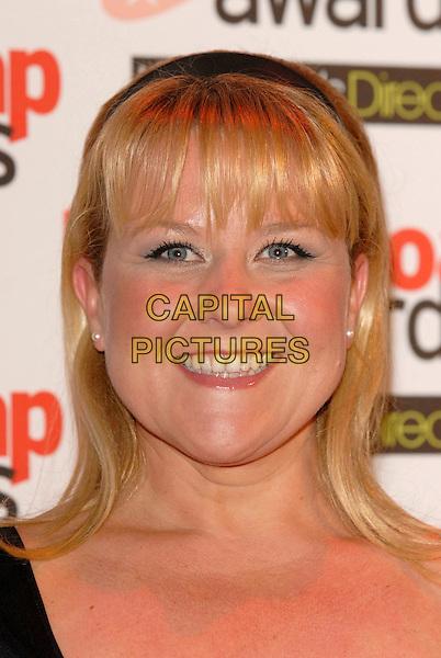 WENDI PETERS.Inside Soap Awards, Gilgamesh, Camden, London, .England, September 24th 2007..portrait headshot .CAP/FIN.©Steve Finn/Capital Pictures.