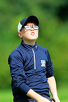 James Fox (Ballina) on the 1st tee during the Connacht U12, U14, U16, U18 Close Finals 2019 in Mountbellew Golf Club, Mountbellew, Co. Galway on Monday 12th August 2019.<br /> <br /> Picture:  Thos Caffrey / www.golffile.ie<br /> <br /> All photos usage must carry mandatory copyright credit (© Golffile | Thos Caffrey)