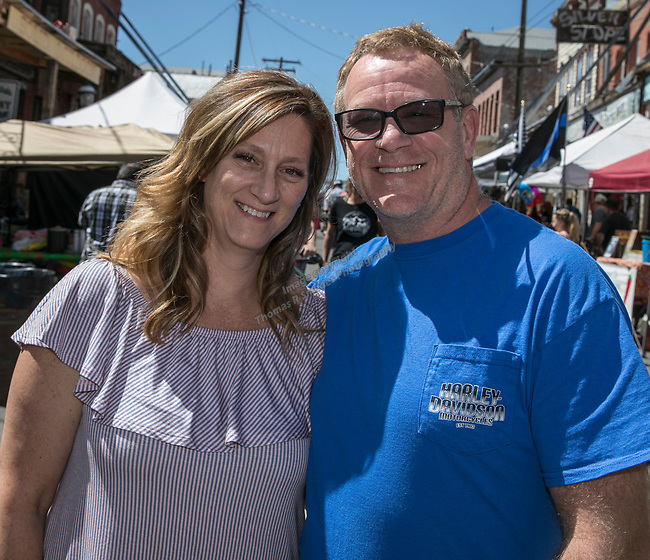Michelle and James Haley from Lodi at the 34th Annual Chili on the Comstock Cook Off in Virginia City on Sunday, May 21, 2017.