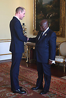 20/01/2020 - Prince William The Duke of Cambridge President of  Ghana Nana Akufo Addo during audiences at Buckingham Palace In London. Photo Credit: ALPR/AdMedia