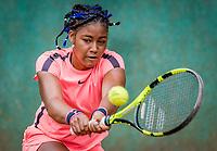 Hilversum, Netherlands, August 8, 2018, National Junior Championships, NJK, Noa Liauw-A-Fong(NED)<br /> Photo: Tennisimages/Henk Koster