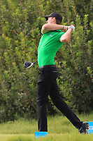 Sebastian Heisele (GER) on the 9th tee during Round 1 of the Challenge Tour Grand Final 2019 at Club de Golf Alcanada, Port d'Alcúdia, Mallorca, Spain on Thursday 7th November 2019.<br /> Picture:  Thos Caffrey / Golffile<br /> <br /> All photo usage must carry mandatory copyright credit (© Golffile | Thos Caffrey)