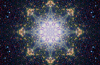 Space Mandala - Dancing Stars -1