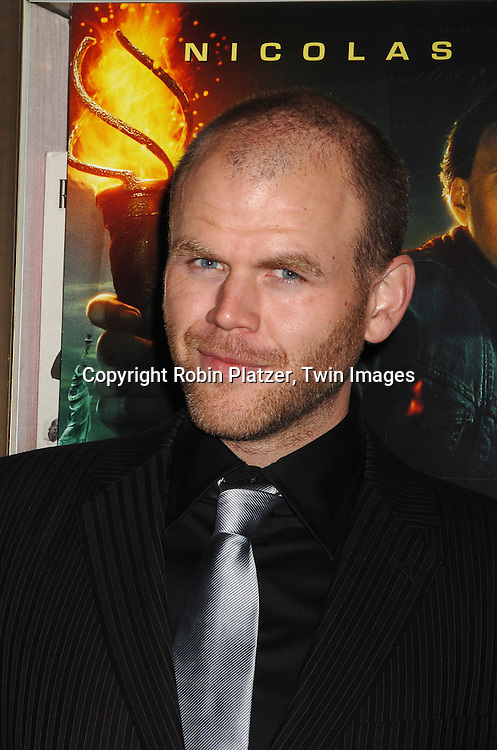 "actor Michael Maize.arriving to The World Premiere of ""National Treasure: Book of Secrets"" on December 13, 2007 at The Ziegfeld Theatre. .Robin Platzer, Twin Images"