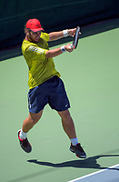 Zac Waanga. 2017 Wellington Open tennis championship at Renouf Tennis Centre in Wellington, New Zealand on Wednesday, 20 December 2017. Photo: Dave Lintott / lintottphoto.co.nz