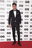 Isaac Carew<br /> at the GQ Men of the Year Awards 2018 at the Tate Modern, London<br /> <br /> ©Ash Knotek  D3427  05/09/2018