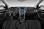 Hyundai Elantra GT Hatchback 2013 Dashboard View Stock Photo