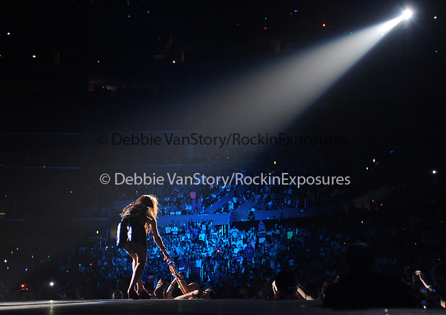 Carly Rae Jepsen performs at the Staples Center as she opens for Justin Bieber as he tours in support of his new album, 'Believe' in Los Angeles, California on October 02,2012                                                                   Copyright 2012 DVS /RockinExposures