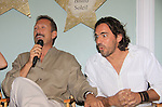 All My Children Walt Willey and Thorsten Kaye at SoapFest's Celebrity Weekend -  A Night of Stars - a VIP event with dinner, autographs, photos, silent and live auction on November 10, 2012 at Bistro Soleil at Old Historic Marco Inn (Photo by Sue Coflin/Max Photos)