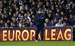 Tottenham's Mauricio Pochettino looks on dejected<br /> <br /> Europa League - Tottenham Hotspur  vs Fiorentina  - White Hart Lane - England - 19th February 2015 - Picture David Klein/Sportimage