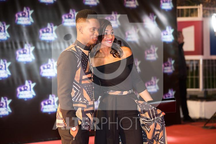 Black M et sa compagne Lia