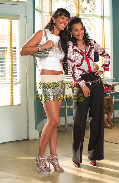KIMORA LEE SIMMONS & LISARAYE McCOY.in Beauty Shop.*Editorial Use Only*.www.capitalpictures.com.sales@capitalpictures.com.Supplied by Capital Pictures.