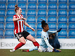 Aimee Palmer of Sheffield Utd during the The FA Women's Championship match at the Proact Stadium, Chesterfield. Picture date: 12th January 2020. Picture credit should read: Simon Bellis/Sportimage