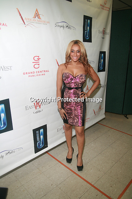 Nema Kamar Attends the 7th Annual African American Literary Awards Held at Melba's Restaurant, NY  9/22/11
