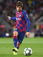 FOOTBALL: FC Barcelone vs SK Slavia Praha - Champions League - 05/11/2019<br /> Sergi Roberto<br /> <br /> <br /> Barcellona 5-11-2019 Camp Nou <br /> Barcelona - Slavia Praga <br /> Champions League 2019/2020<br /> Foto Paco Largo / Panoramic / Insidefoto <br /> Italy Only