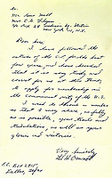 Lee Harvey Oswald letter applying for Communist Party membership months before he killed JFK