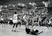 San Francisco Warriors  exhibition game against the 1964 US Olympic team, Sept 21,1964.played at USF gym in San Francisco, Ca<br />