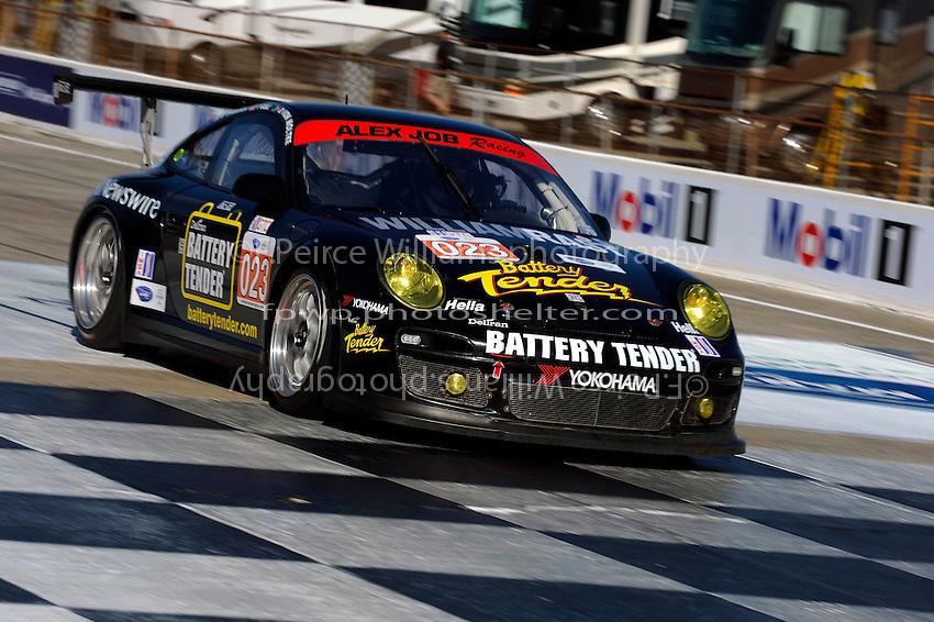 #023 Alex Job Racing Porsche 911 GT3 Cup (GTC) of Bill Sweedler, Townsend Bell & Dion von Moltke