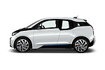 Car Driver side profile view of a 2017 BMW I3 Deka-World 5 Door Hatchback Side View