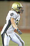 Beverly Hills, CA 09/23/11 - Andrew Jessop (Peninsula #34) in action during the Peninsula-Beverly Hills Varsity football game.