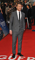 Glen Powell at the &quot;The Guernsey Literary And Potato Peel Pie Society&quot; world film premiere, Curzon Mayfair cinema, Curzon Street, London, England, UK, on Monday 09 April 2018.<br /> CAP/CAN<br /> &copy;CAN/Capital Pictures