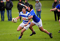 Action from the 2017 1st XV rugby Top Four boys 3rd place playoff between St Kentigern College and Southland Boys' High School at Sport and Rugby Institute in Palmerston North, New Zealand on Sunday, 10 September 2017. Photo: Dave Lintott / lintottphoto.co.nz