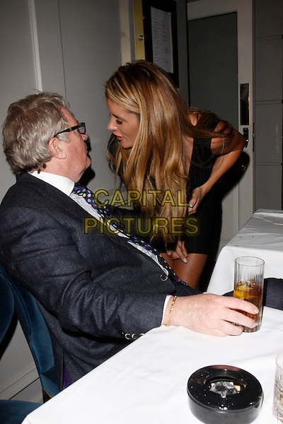 LONDON, ENGLAND - APRIL 28 : Jim Davidson and  Helen Wood attend the Hot Gossip - launch party at Gigi's on April 28, 2015 in London, England.<br /> CAP/AH<br /> &copy;Adam Houghton/Capital Pictures