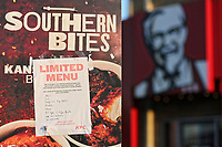 2018 02 21 KFC take away stores run out of chicken, Swansea, UK