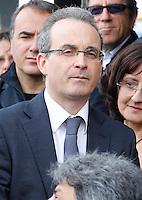 Presentazione dei candidati al consiglio comunale di Napoli del movimento cinque stelle<br /> Vincenzo Presutto