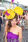 STYLE QUEEN: Carol Kennelly, Tralee, who took home the title of Best Dressed Lady at the Galway Races Ladies Day on Thursday last.
