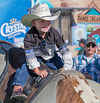 A photograph taken during the Reno Rodeo on Sunday, June 23, 2019.
