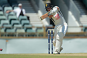 November 5th 2017, WACA Ground, Perth Australia; International cricket tour, Western Australia versus England, day 2; Josh Philippe plays a cover drive off Stuart Broad to the boundary during his innings