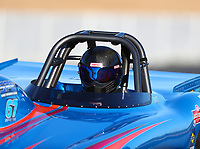 Jul 28, 2017; Sonoma, CA, USA; NHRA super gas driver Ron Mac Kenzie during qualifying for the Sonoma Nationals at Sonoma Raceway. Mandatory Credit: Mark J. Rebilas-USA TODAY Sports