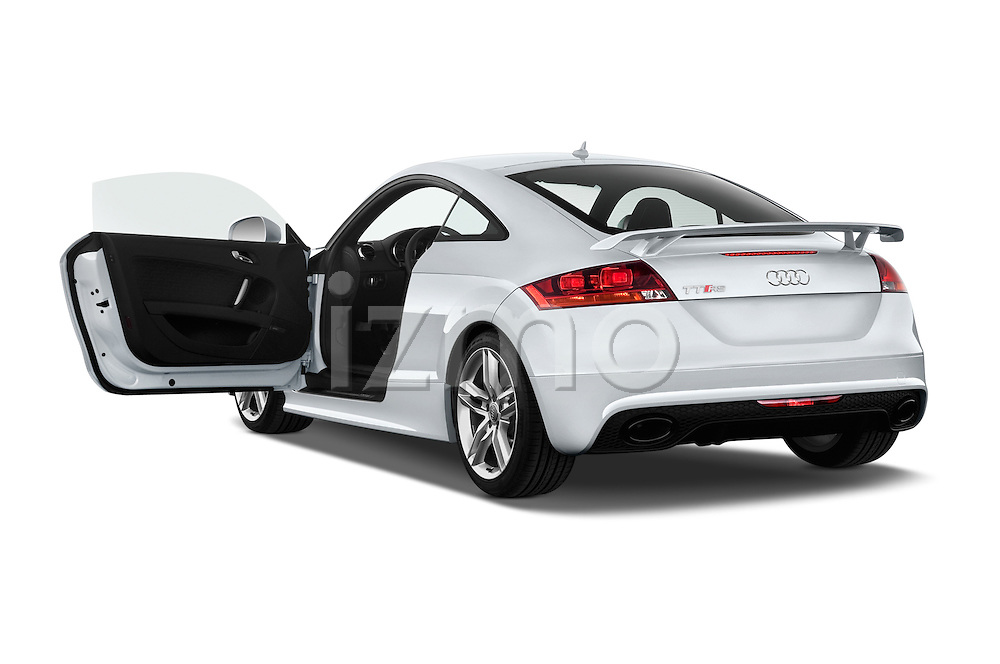 Rear three quarter door view of a 2010 - 2014 Audi TT RS 3 Door Coupe 4WD.