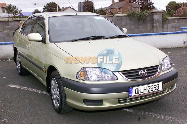 01 LH 2869 Avensis..Picture Fran Caffrey Newsfile...This Picture is sent to you by:..Newsfile Ltd.The View, Millmount Abbey, Drogheda, Co Louth, Ireland..Tel: +353419871240.Fax: +353419871260.GSM: +353862500958.ISDN: +353419871010.email: pictures@newsfile.ie.www.newsfile.ie