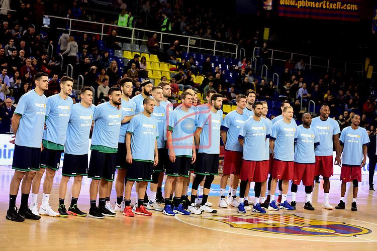 League ACB-ENDESA 2016/2017 - Game: 13.<br /> FC Barcelona Lassa vs Divina seguros Joventut: 79-77.